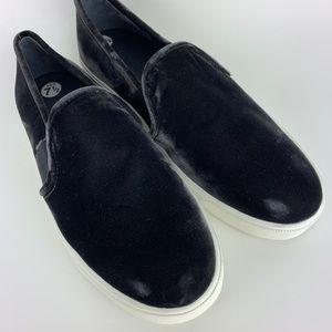 Vince Shoes - Vince Blair Velvet Slip On Sneakers Loafers 7.5